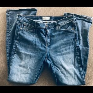 Gap 1969 Baby Boot Jeans, Size 33S